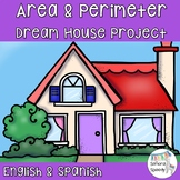 Area and Perimeter Dream House Project - English & Spanish!