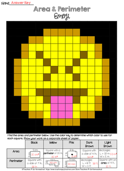 Area and Perimeter Emoji