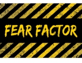 Area and Perimeter FEAR FACTOR