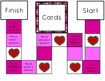 Area and Perimeter File Folder Game- Valentine Themed