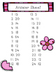 Area and Perimeter File Folder Game- Valentine Themed