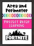 Area and Perimeter Fortnite Project Based Learning