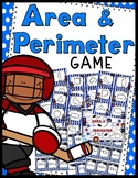 Area and Perimeter Game - 30 Task Cards!