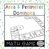 Area and Perimeter Game Dominoes