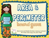 Area and Perimeter Game - Math Centers