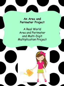 Area and Perimeter Garden Project