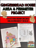 Area and Perimeter Gingerbread House Project