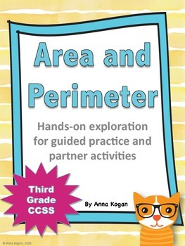 3rd Grade Area and Perimeter Hands-On Activities