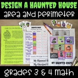 Build a Haunted House Perimeter and Area Activity