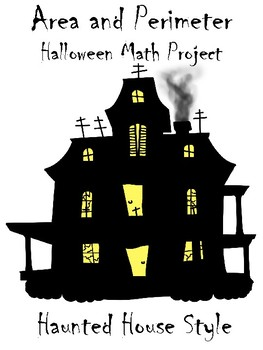 Area and Perimeter Haunted House Math Project (With Complex Shapes)