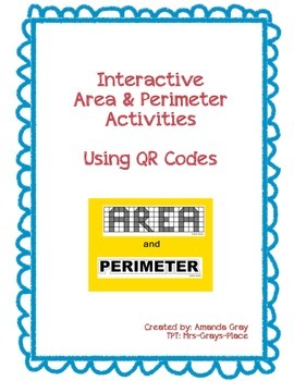 Area and Perimeter Interactive Activities