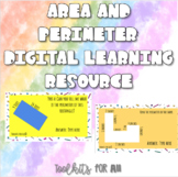 Area and Perimeter Interactive Digital Learning Resource