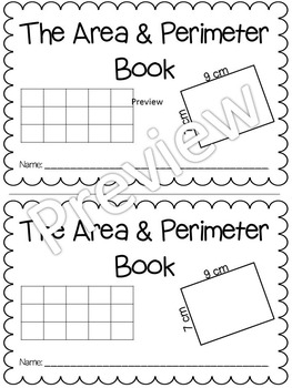Books about area and perimeter