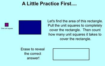 Area and Perimeter Intro SMART Notebook