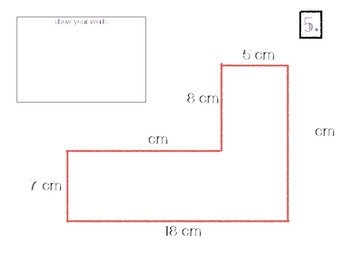 Area and Perimeter Irregular Shapes: Differentiated