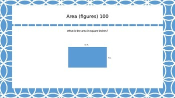 Area and Perimeter Jeopardy!
