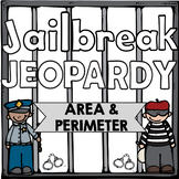 Area and Perimeter Jeopardy Review Game