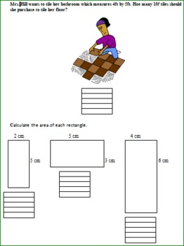 Area and Perimeter Lesson Plans for Squares and Rectangles