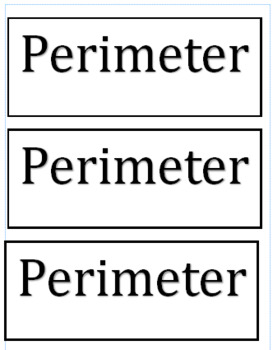 Area and Perimeter Lesson and Power Point