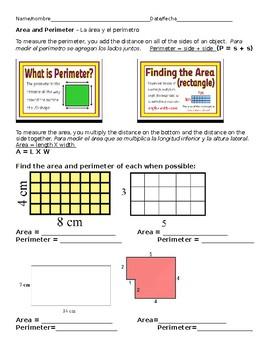 Area and Perimeter - Los dos
