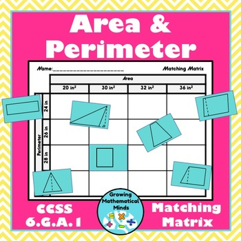 Area and Perimeter Matching Matrix