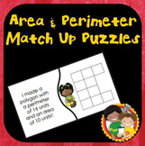 Area and Perimeter Matching Puzzles