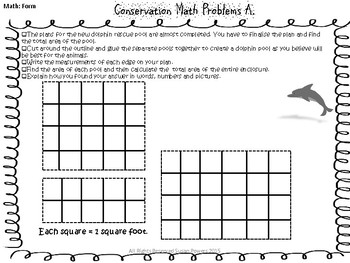 Area and Perimeter Math Activity