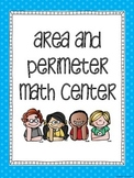 Area and Perimeter Math Center