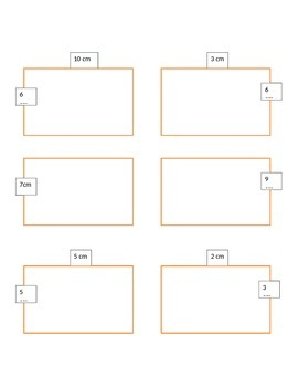 Area and Perimeter Math Center Games