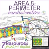 Area and Perimeter Math Center Resources