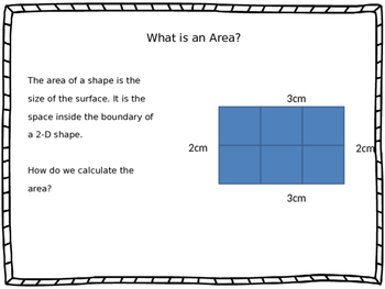 Area and Perimeter Math Powerpoint Presentation