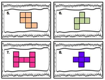 4th Grade Math: Math Review: Area and Perimeter Task Cards: Math Centers