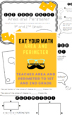 Area and Perimeter - Measuring - Eat Your Math