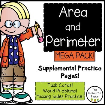 Area and Perimeter Mega Pack