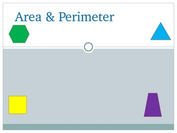 Area and Perimeter Mini Lesson
