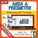 Area and Perimeter Models and Formulas Self-Checking Optio