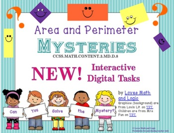 Area and Perimeter Mysteries (Rectangles)