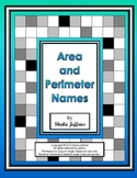 Area and Perimeter Names