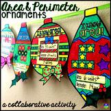 Area and Perimeter Ornaments