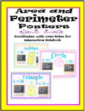 Area and Perimeter Posters-Coordinate with Area Notes for Interactive Notebook