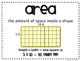 Area and Perimeter Posters {FREEBIES}
