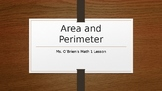 Area and Perimeter PowerPoint