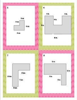 Area and Perimeter Practice Bundle