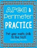 Area and Perimeter Practice [Freebie!]
