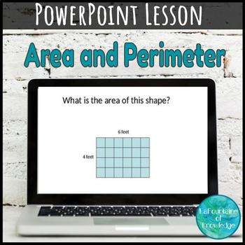 Area and Perimeter Practice PowerPoint