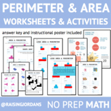 Area and Perimeter Practice Worksheet