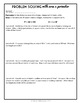 Area and Perimeter: Problem Solving, 8 page 4th grade Lesson Packet + Quiz