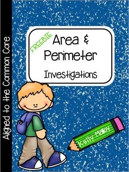 Area and Perimeter Problem Solving Freebie