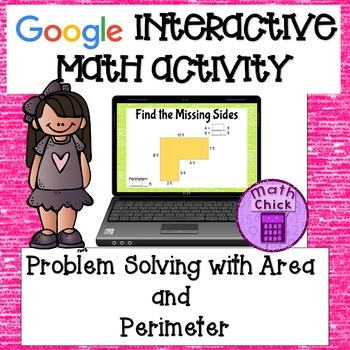 Area and Perimeter Problem Solving Google Classroom Activity TEKS 5.4H