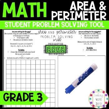 Area and Perimeter Problem Solving Tool